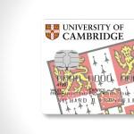 University of Cambridge credit card