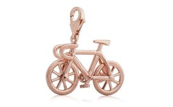 Detail of bicycle charm