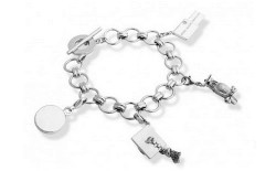 Cambridge charm bracelet