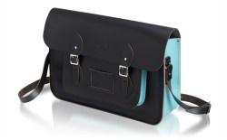 Dark brown satchel