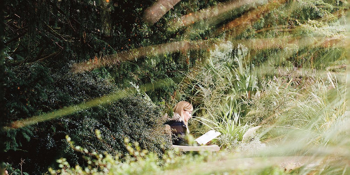 Jess Grimmel (Newnham) in the Botanic Gardens