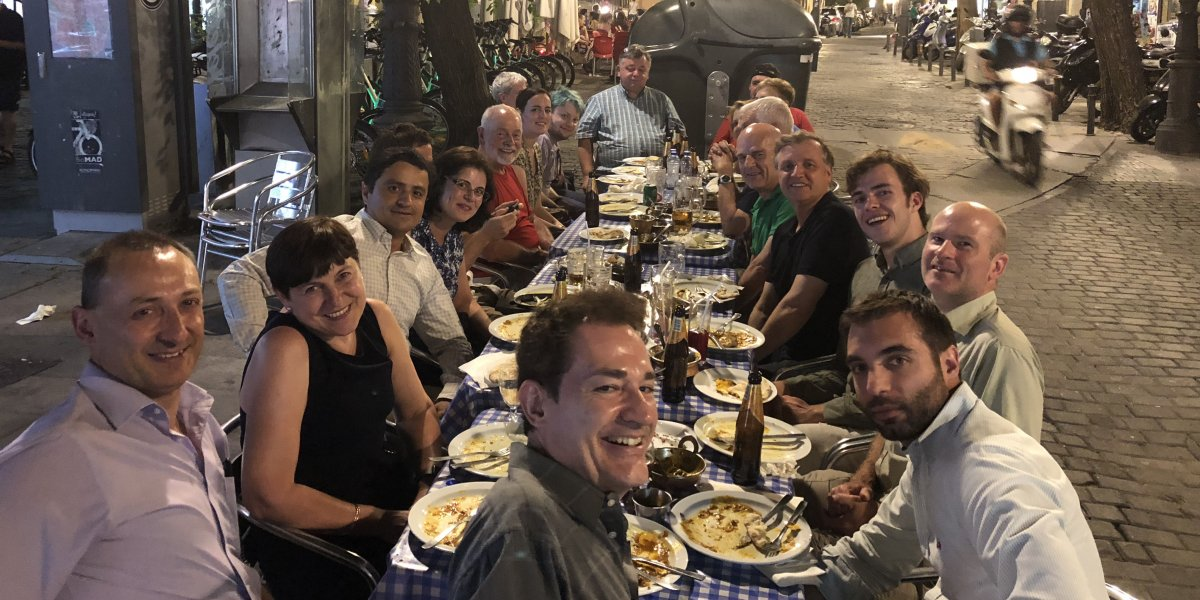 2018 Curry night in Madrid