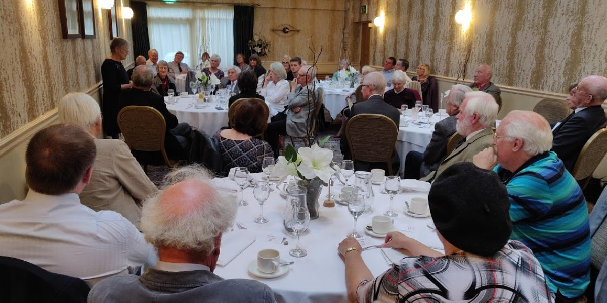 Lunch with Dame Brenda Hale, Lady Hale of Richmond 21 October 2018