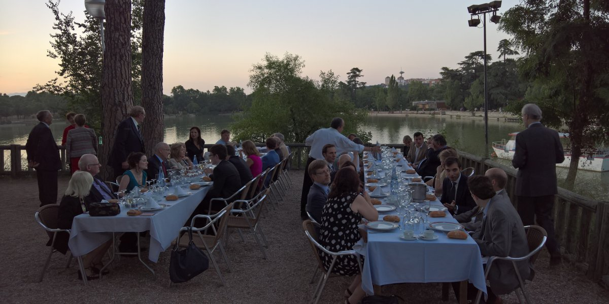 2016 summer lunch with Oxford