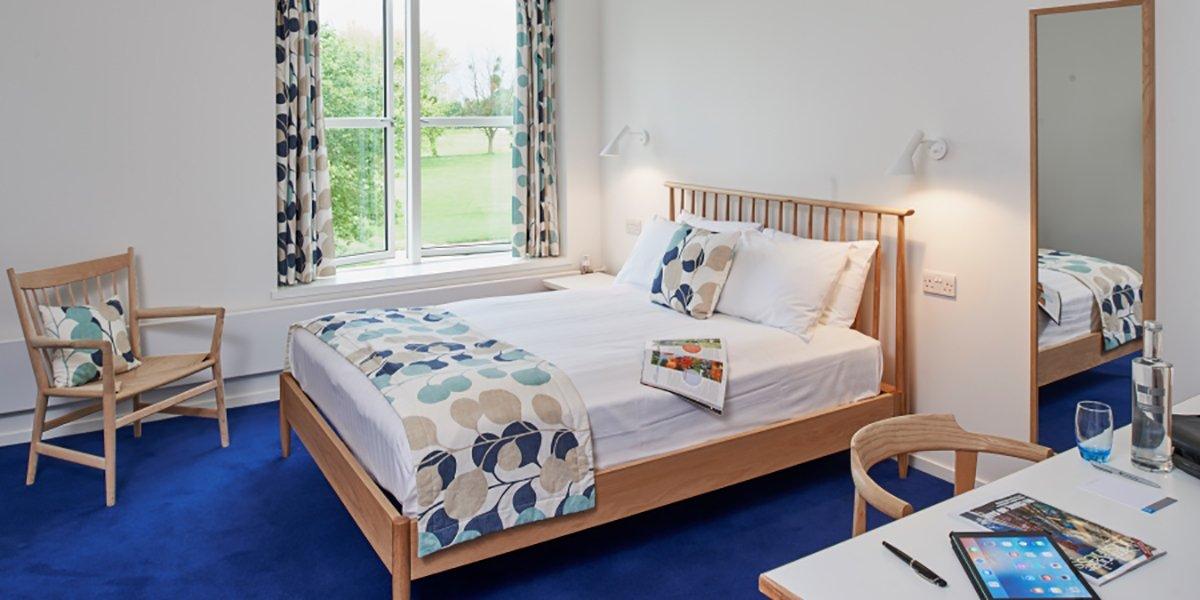 Møller Institute bedroom