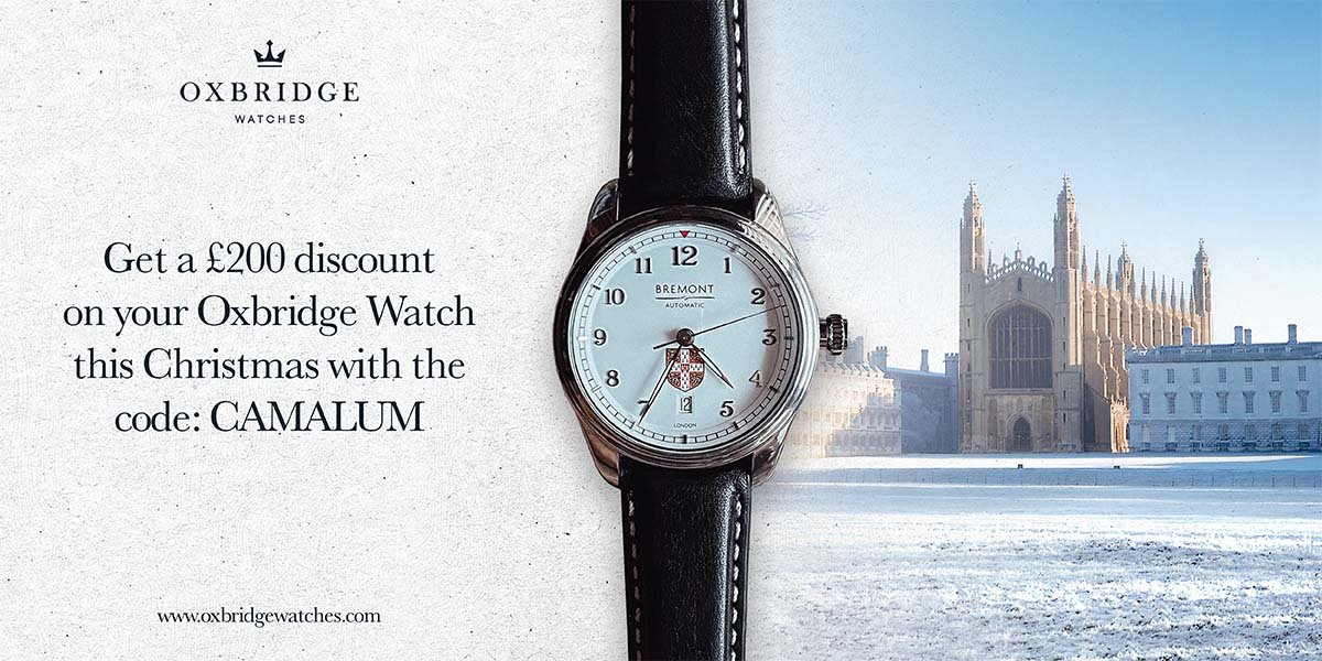 Oxbridge Watch with Kings College in background