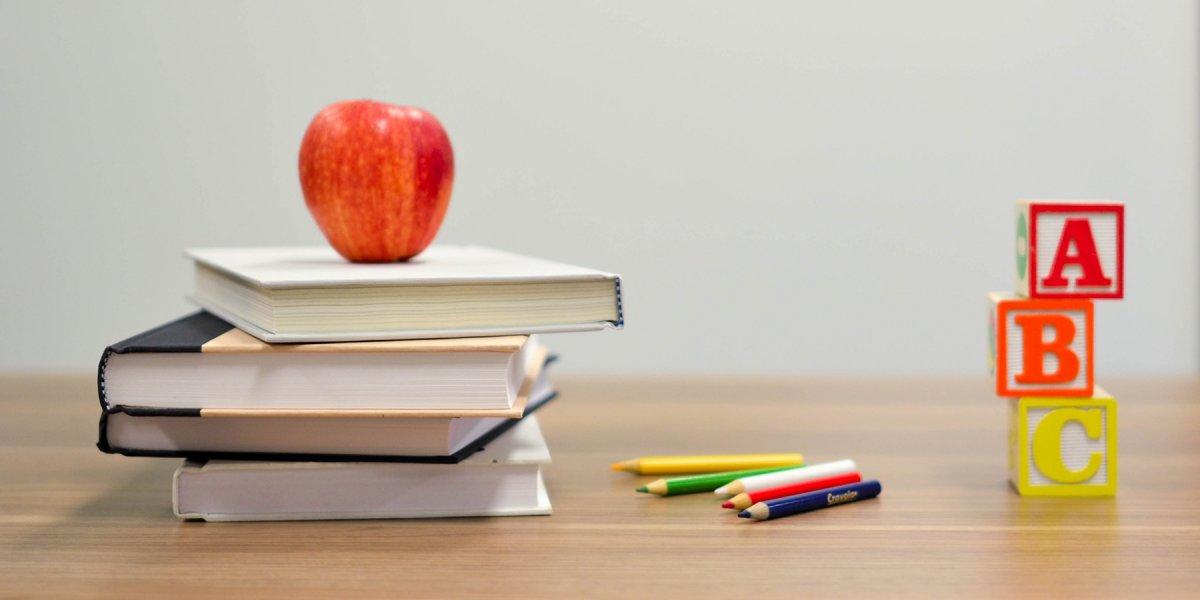 Apple, books and building blocks