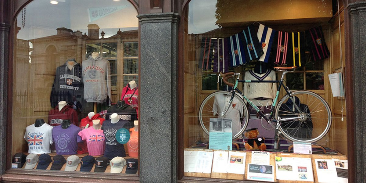 Ryder and Amies Shop Front