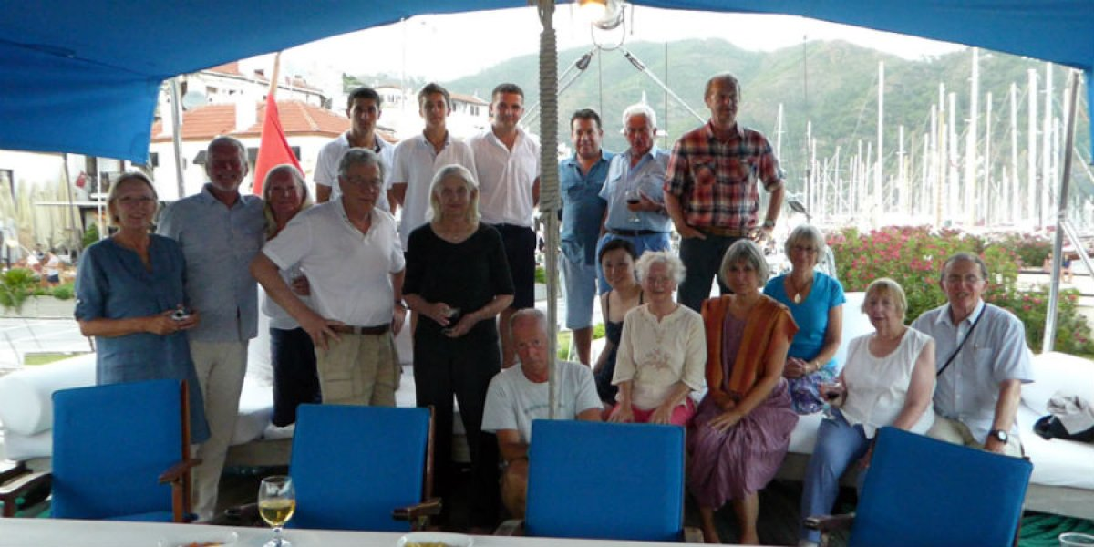 Alumni Group on the Jewels of the Dodecanese tour