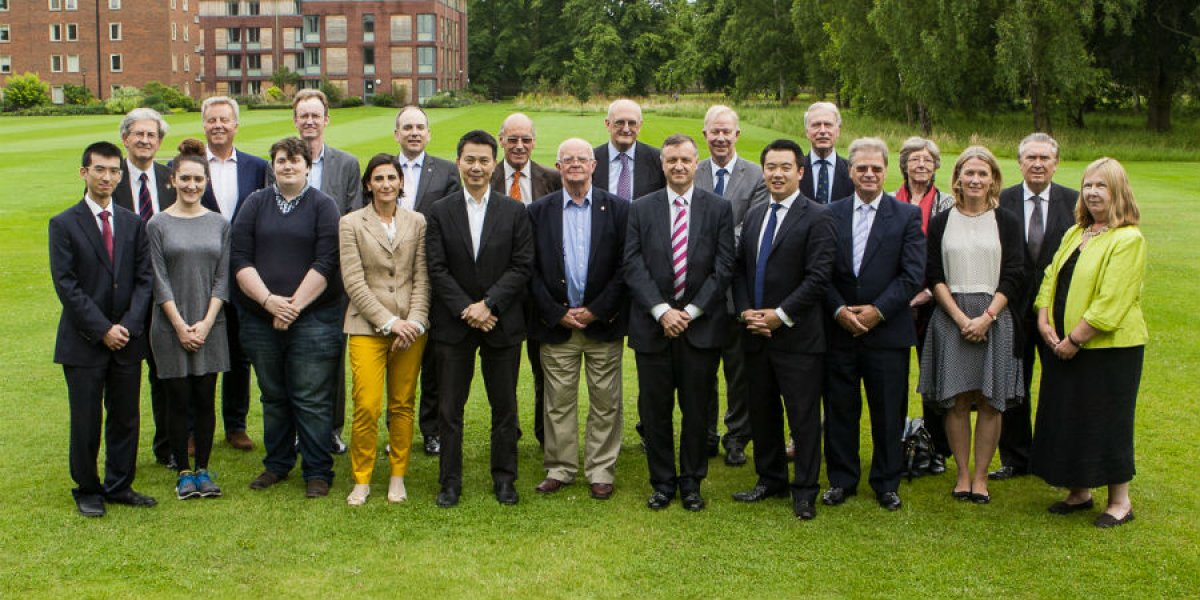 The Alumni Advisory Board in July 2014