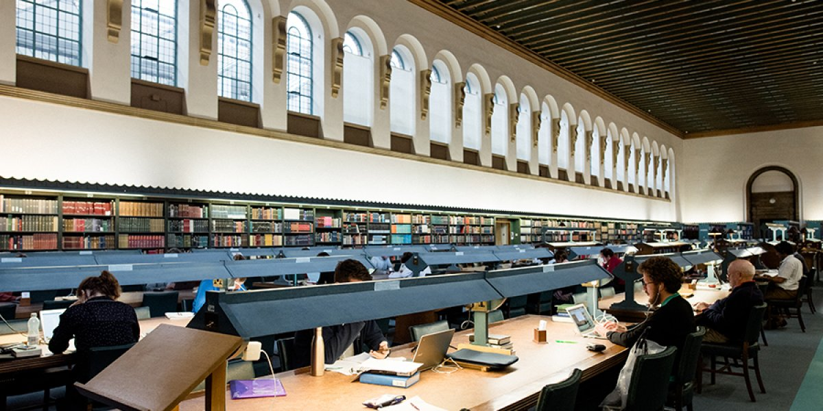 'Inside the University Library'. Credit: Alice the Camera/Cambridge University Library.