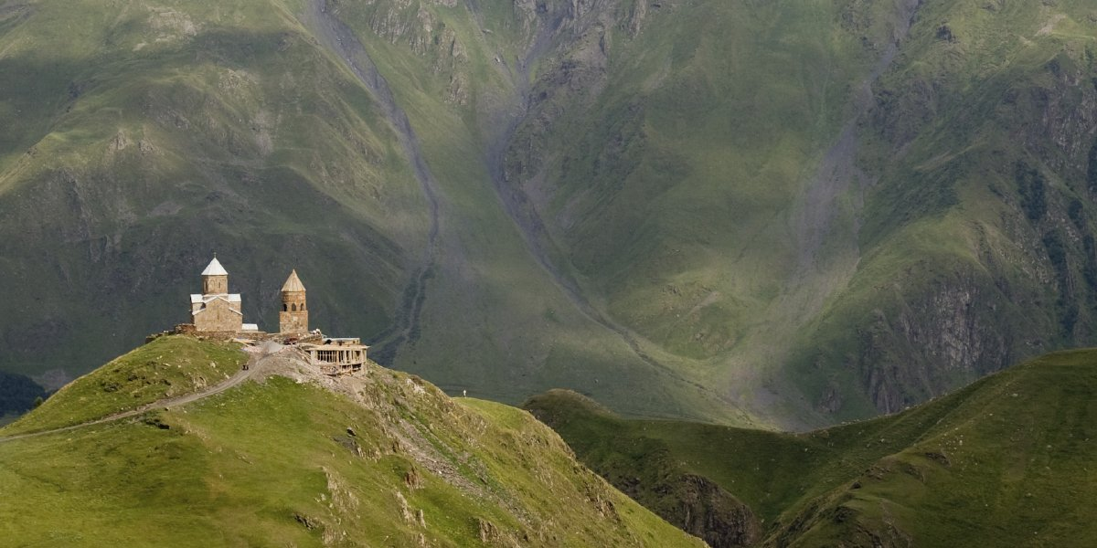 Kazbegi, Caucasus