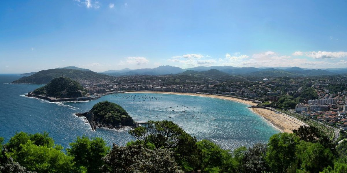View of Donostia-San Sebastián