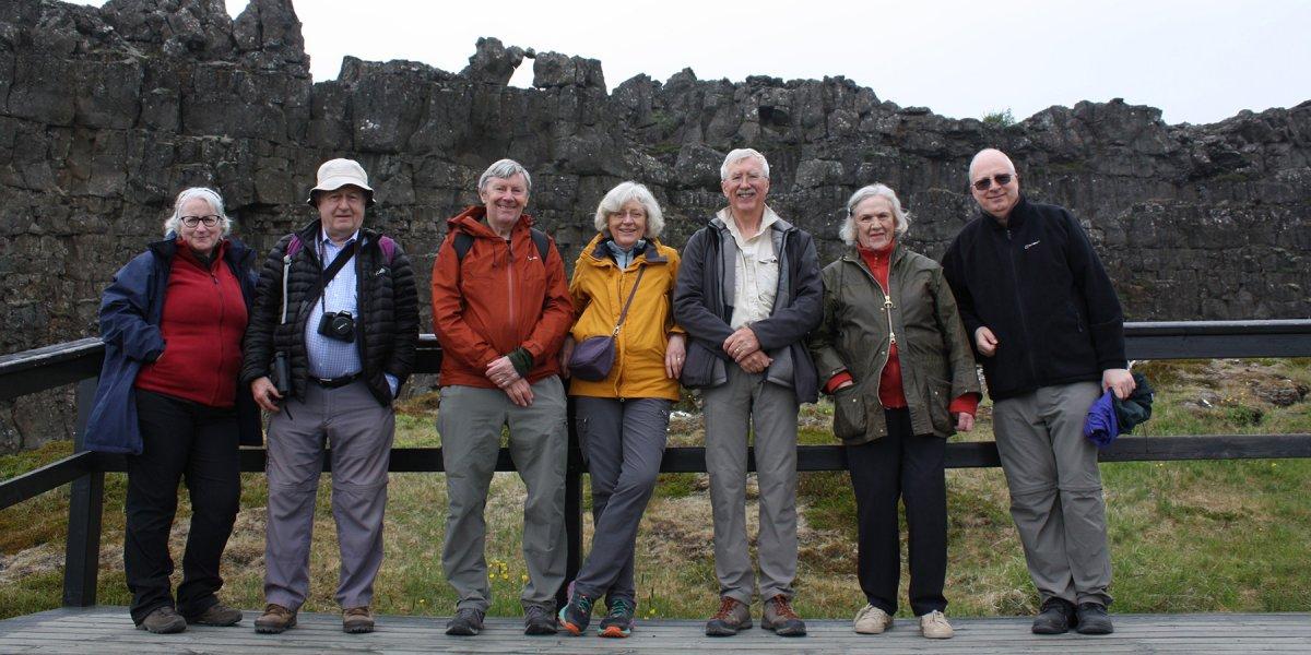 Wonders of Iceland group photo