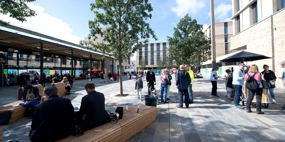 Market Square, Eddington