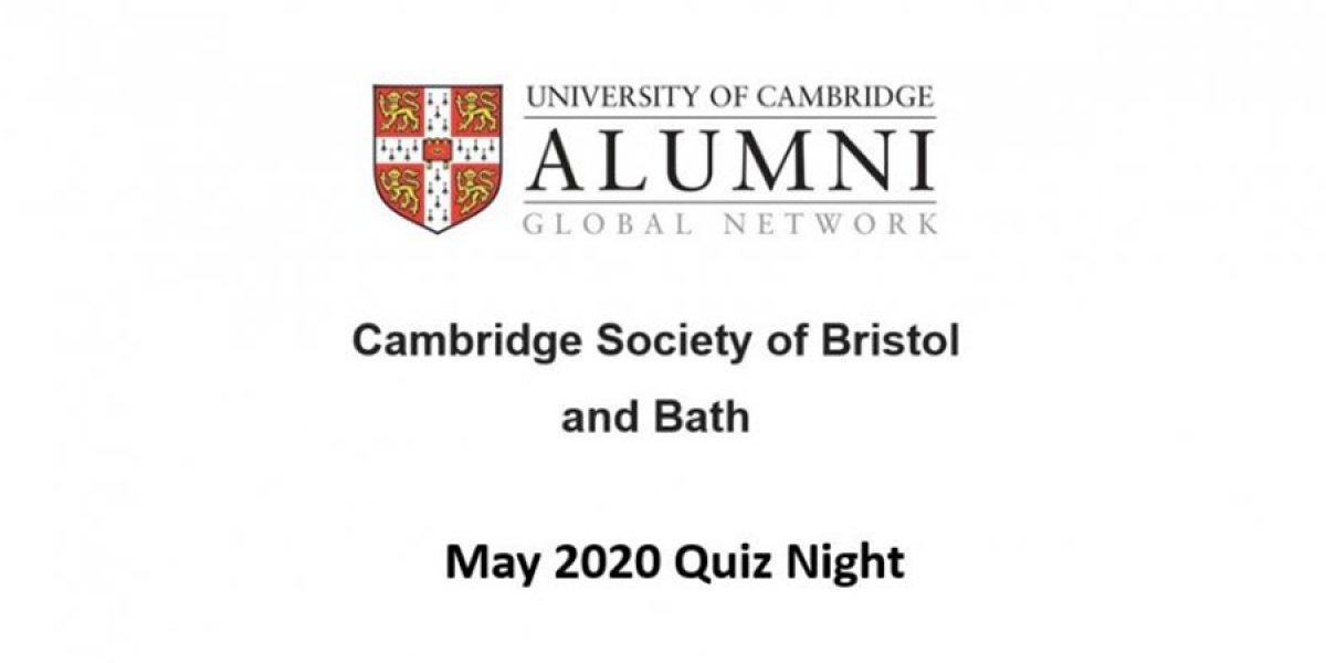 May 2020 Quiz Night
