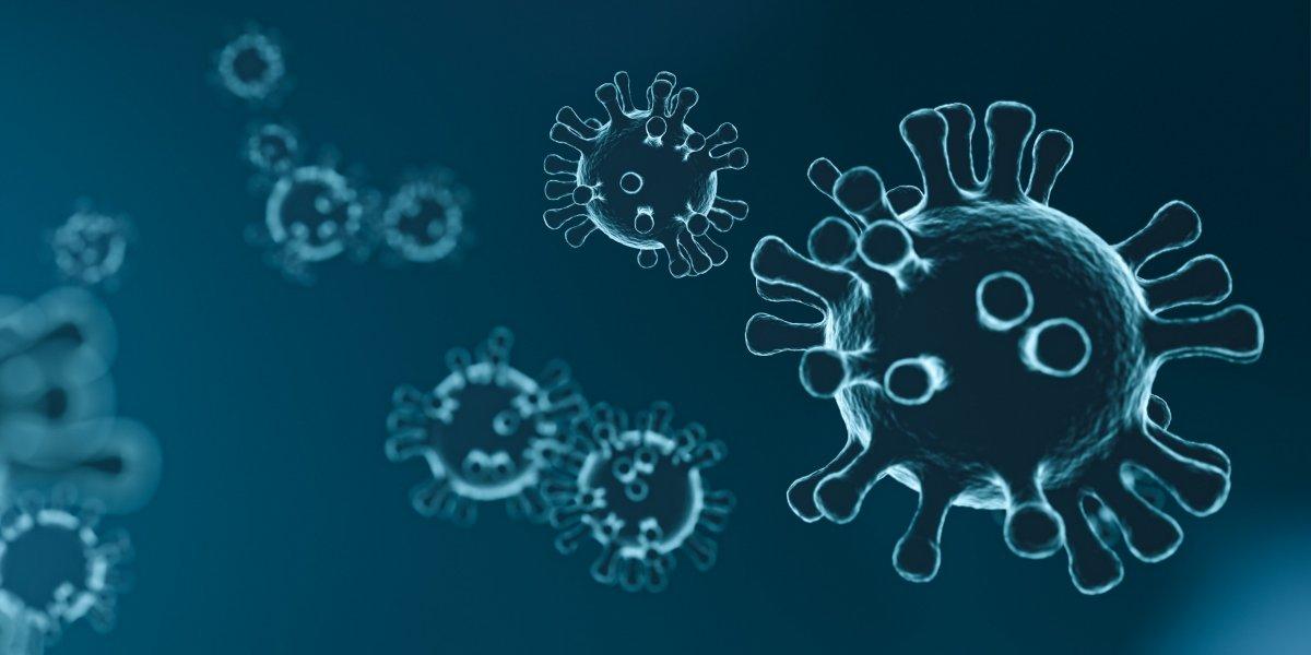 Virus cells illustration