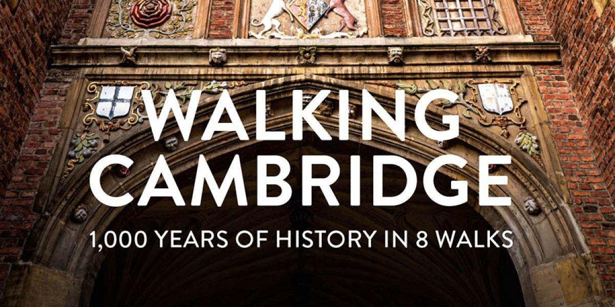 Walking Cambridge - book cover