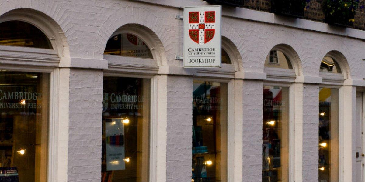 Cambridge University Press bookshop