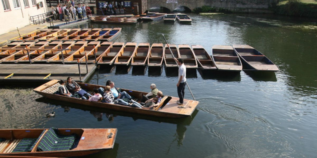 Scudamores punting on the CAM