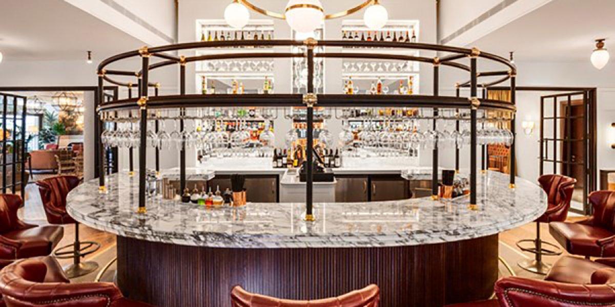 Bar at the Clayton Hotel Cambridge