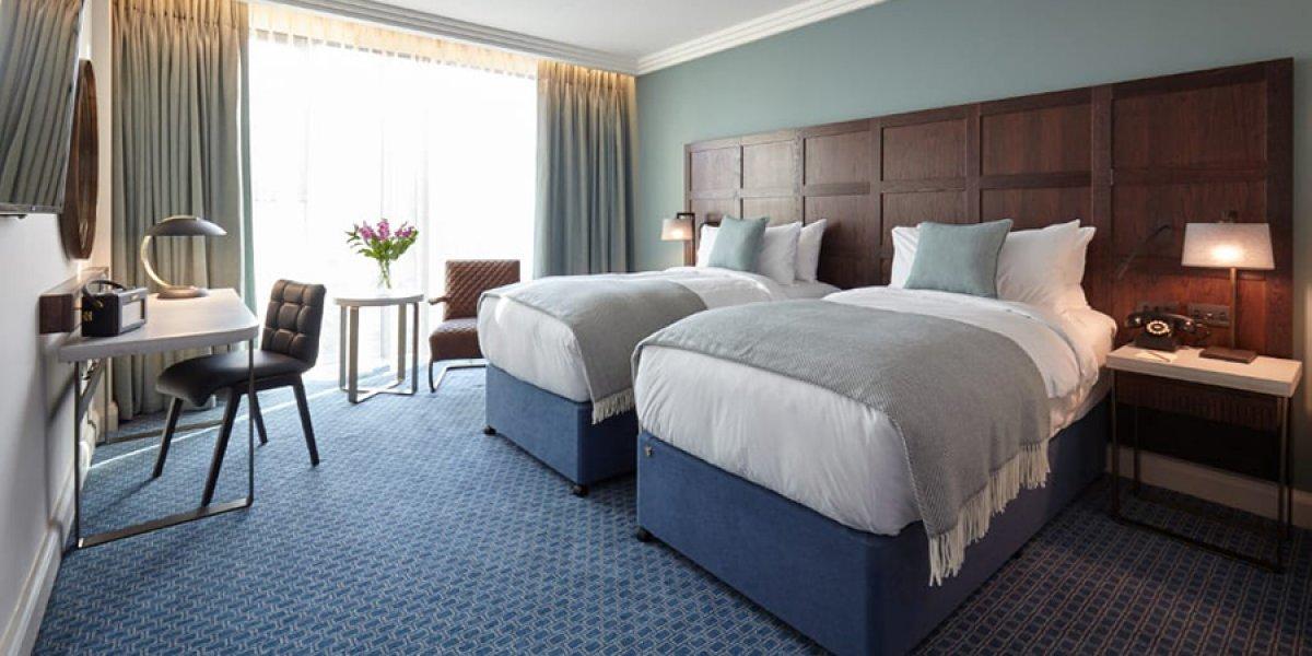 Twin bedroom - The Tamburlaine