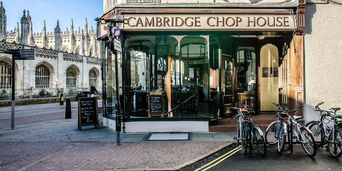 Cambridge Chop House exterior