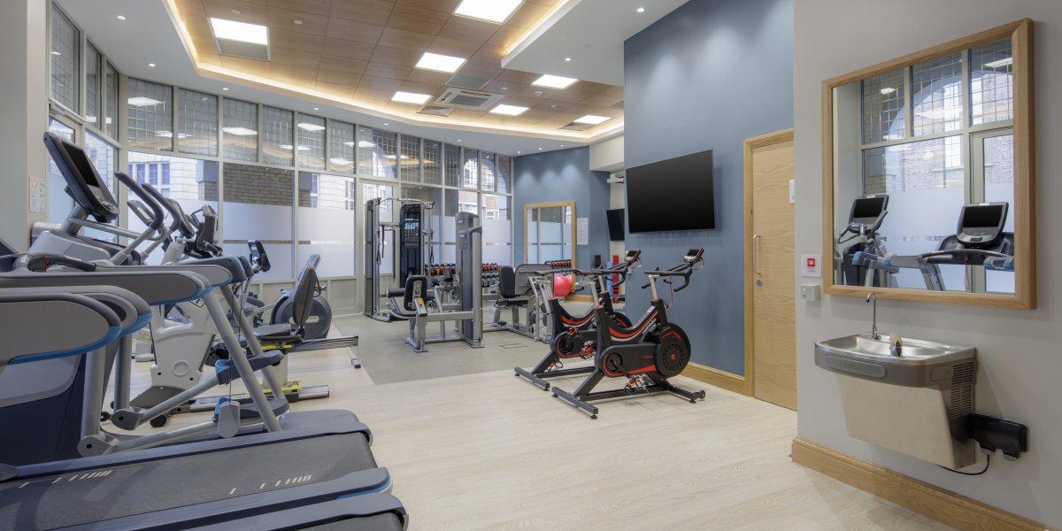 LivingWell Fitness gym