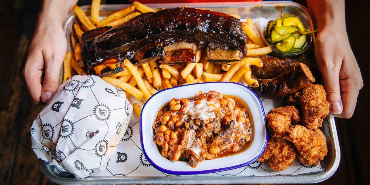 Smokeworks food plate