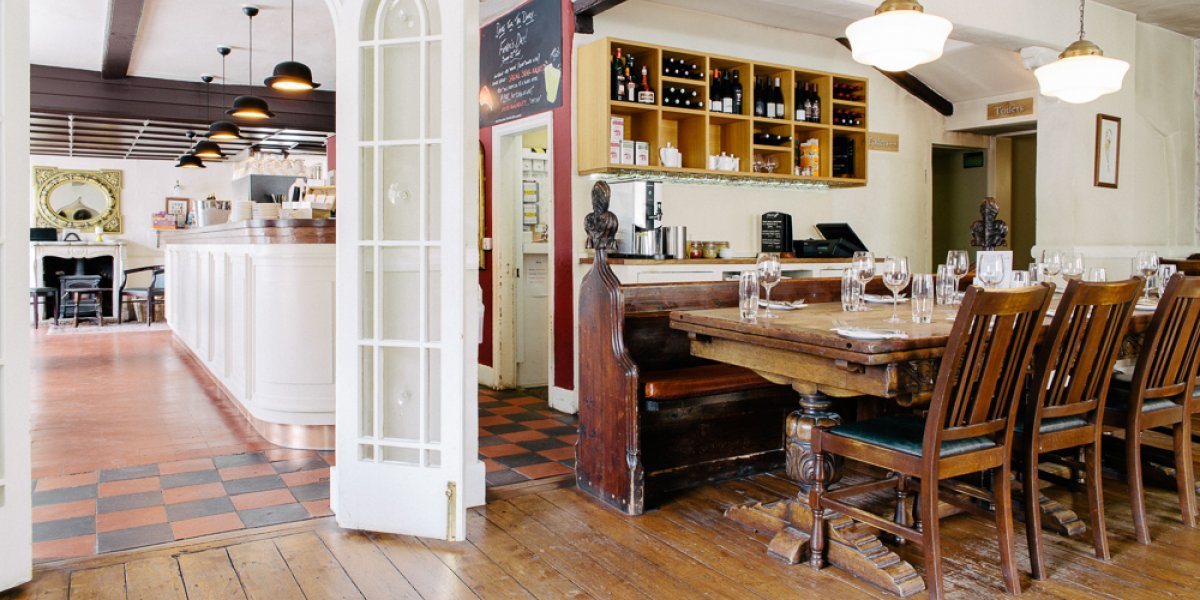 The Tickell Arms interior