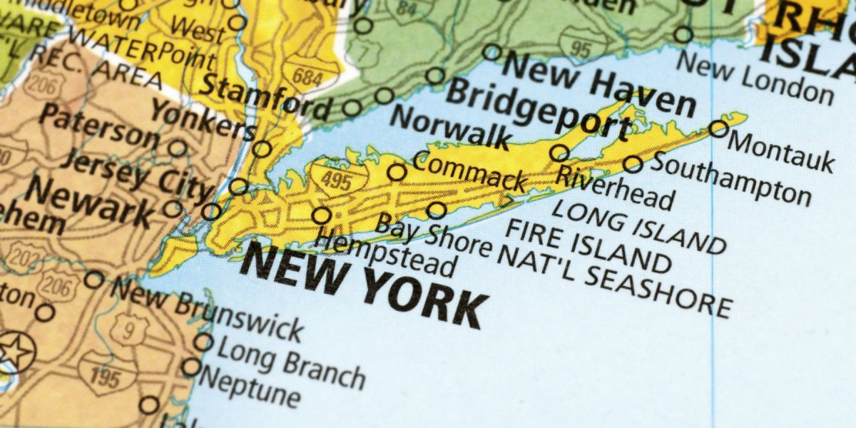 Map of New York