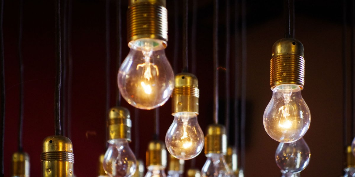 Photo of lightbulbs