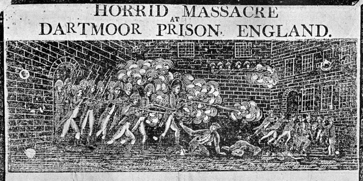 1815 - Horrid massacre at Dartmoor Prison