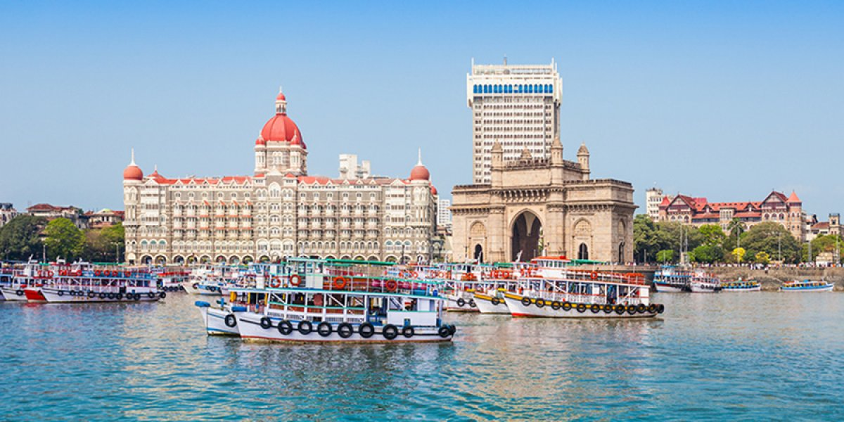 Image of Mumbai harbour