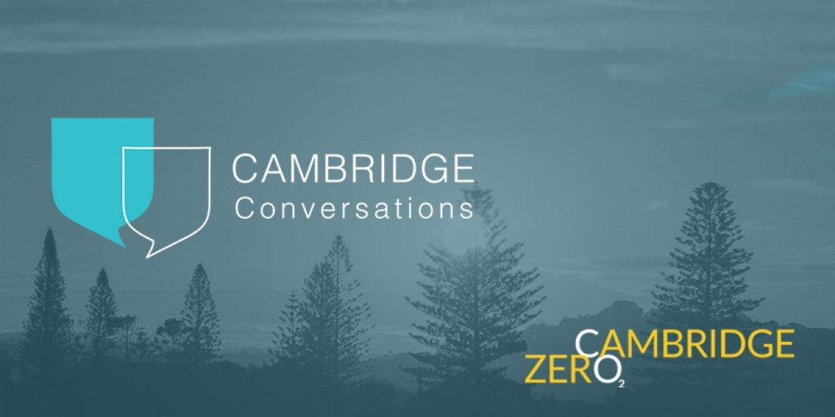 Cambridge Conversations and Cambridge Zero logos