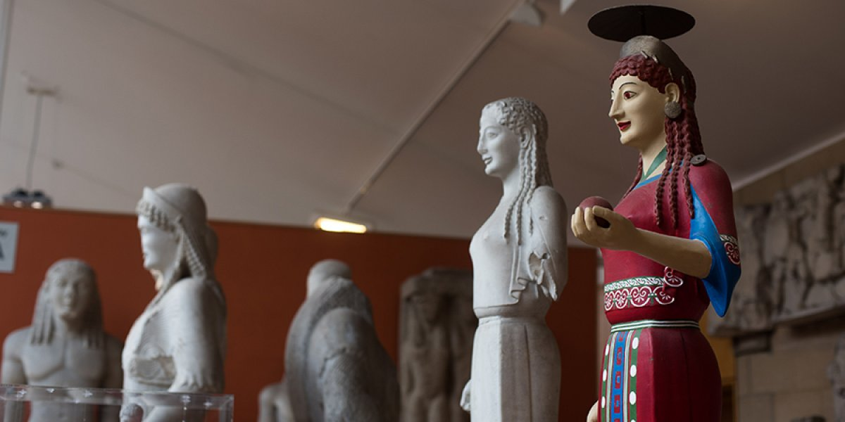 Statues at the Museum of Classical Archaeology