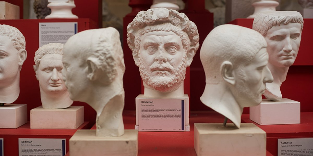 Busts at the Museum of Classical Archaeology