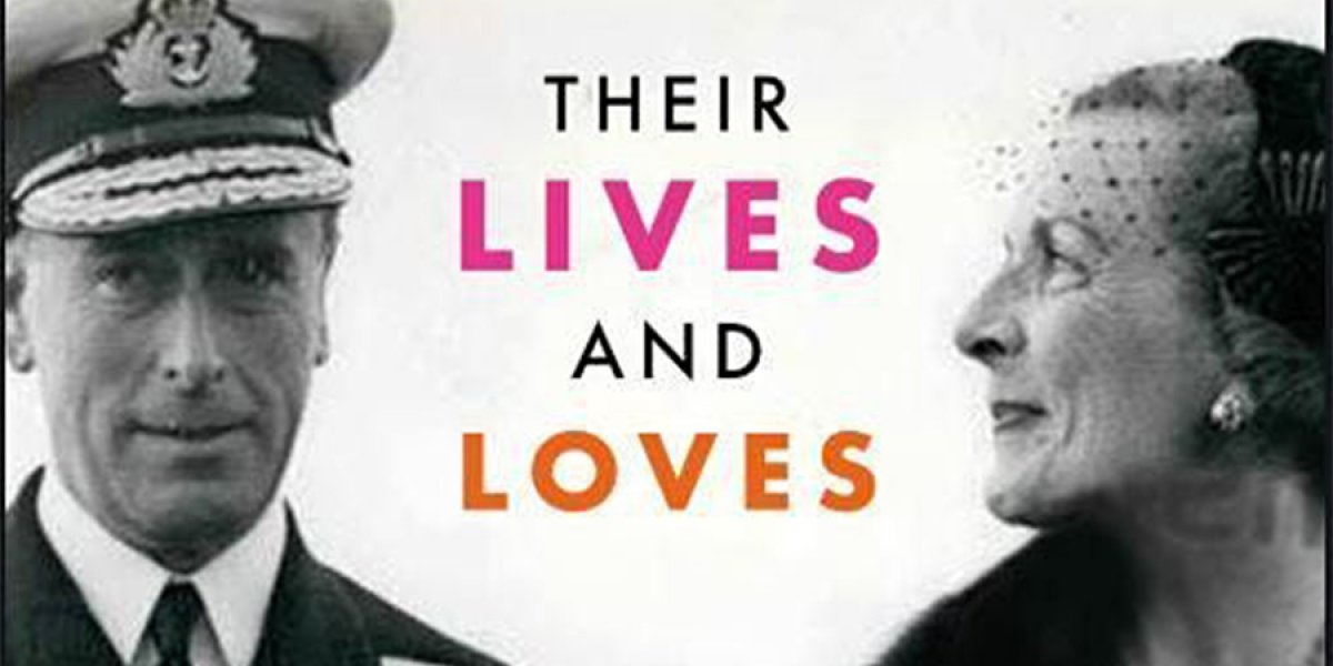 Cover photo of the book The Mountbatten: their live and love