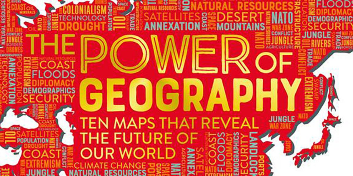 Power of geography map