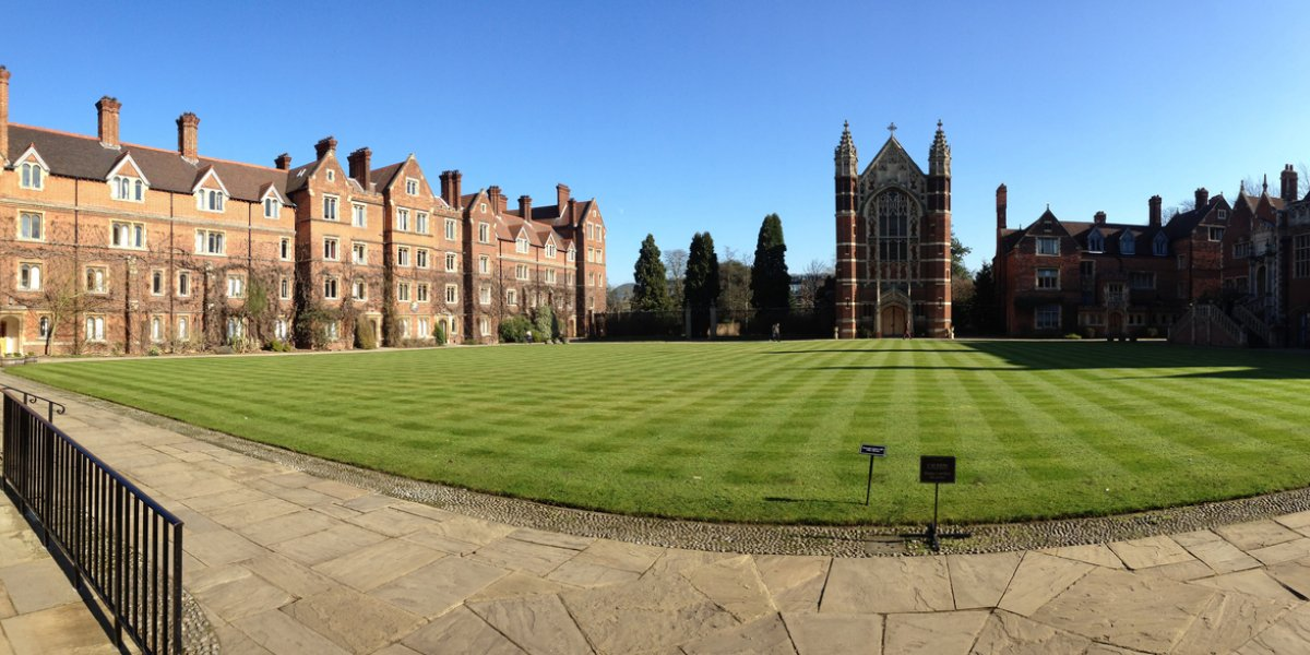 Selwyn Court in the sun