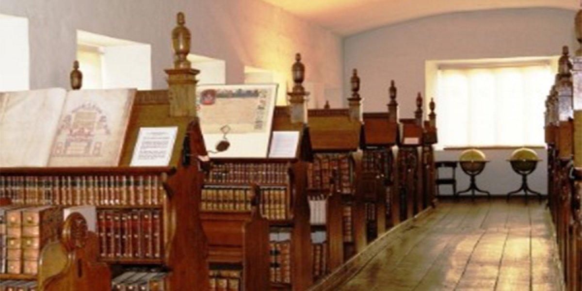 Trinity Hall's Elizabethan Old Library