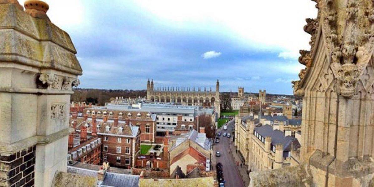Cambridge skyline