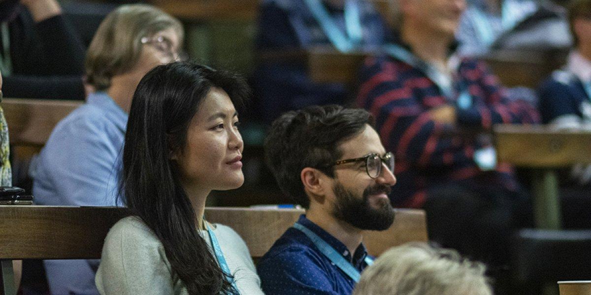 Audience members at Alumni Festival 2019