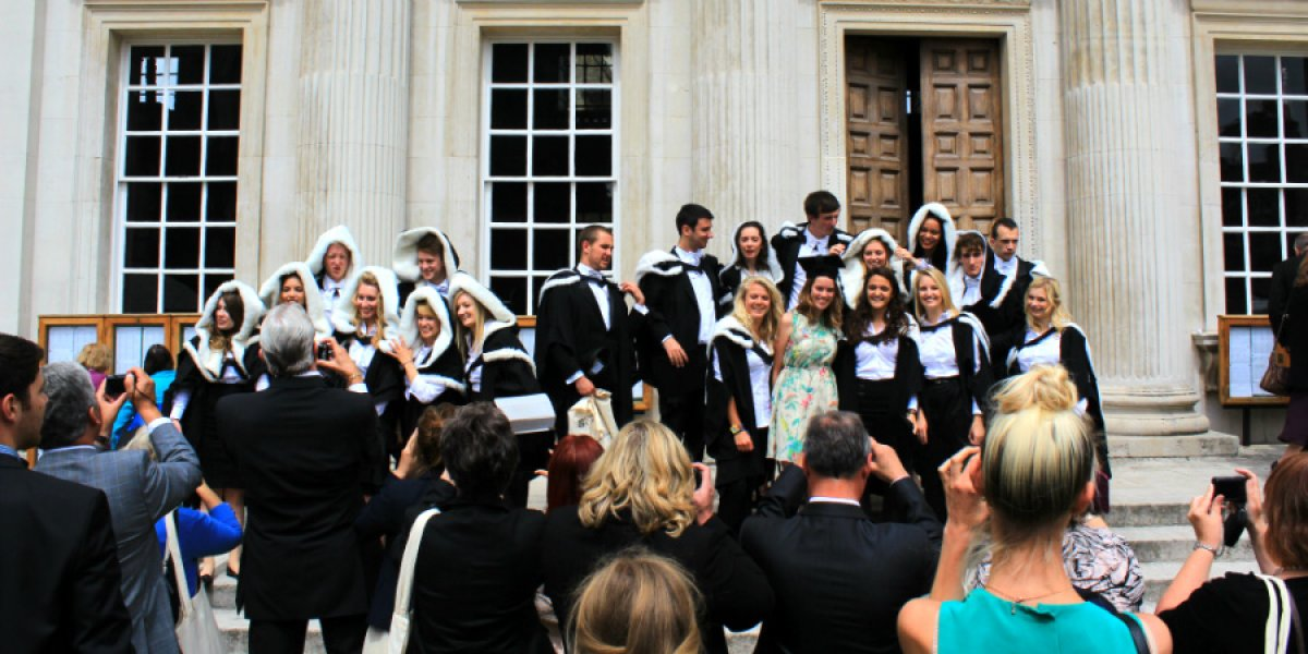 New graduates at the Senate House (General Admission 2013)