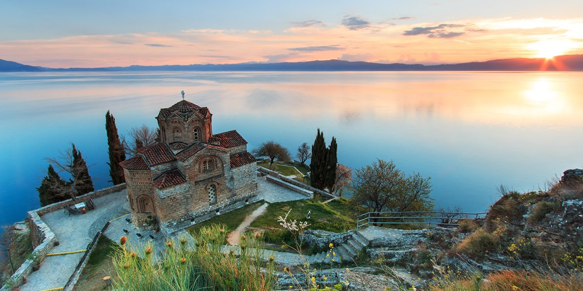 Lake Ohrid - North Macedonia