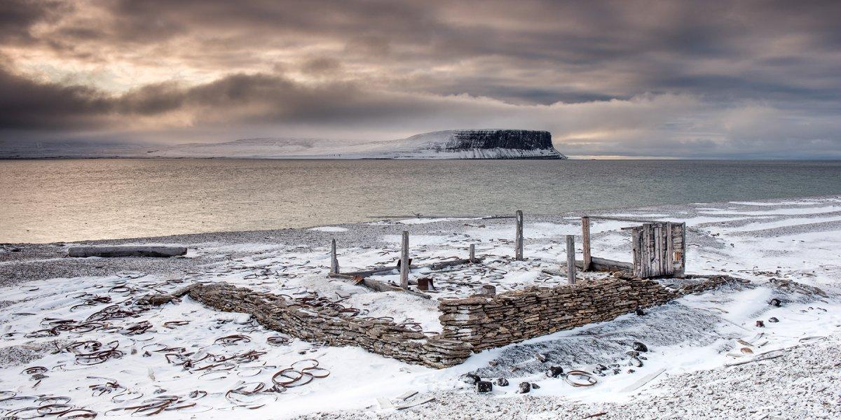 Beechey Island Nunavut by Mark Edward Harris
