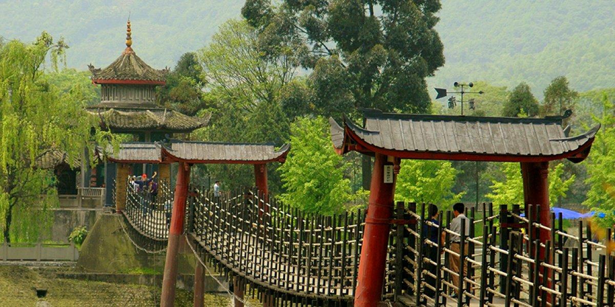 Dujiangyan near Chengdu
