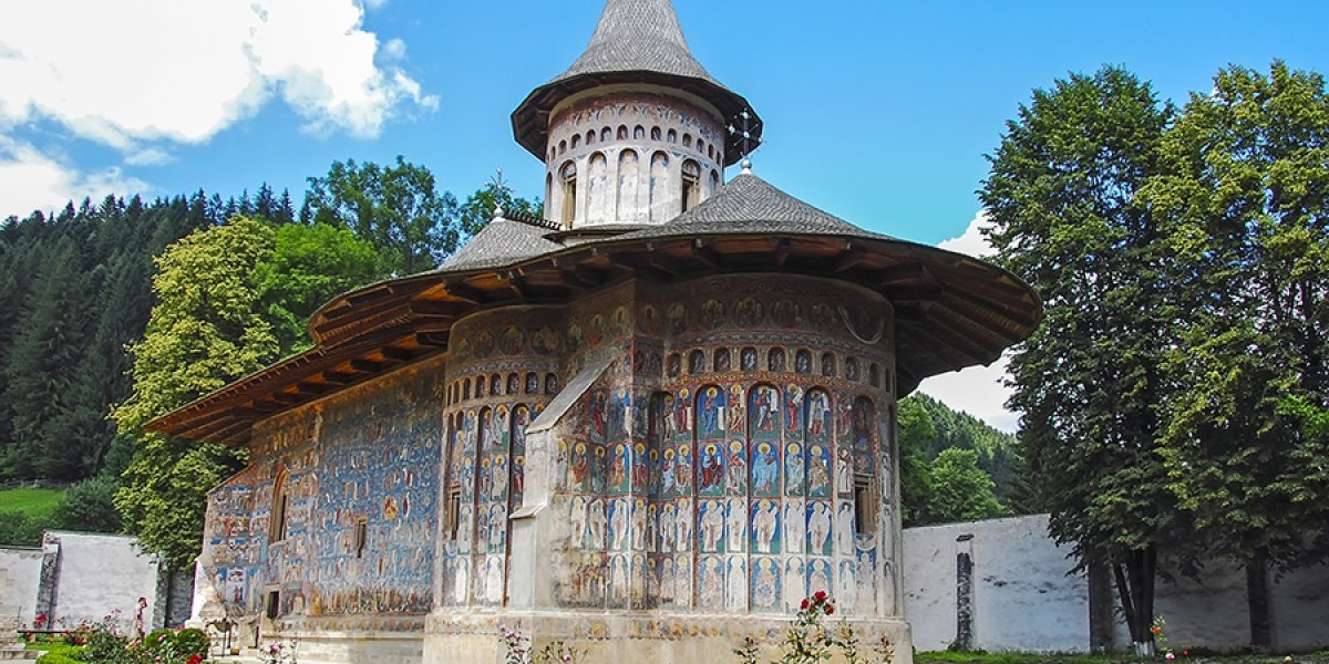 Voronet Monastary, Romania