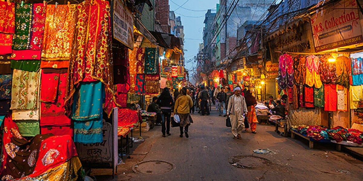 City street, India