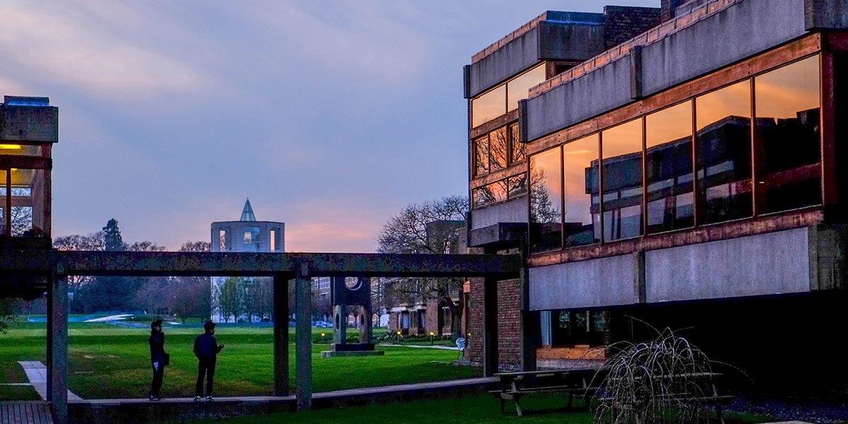 Sunset Churchill College